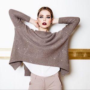 Rocco Ragni Italy Cashmere  Sparkle Sweater